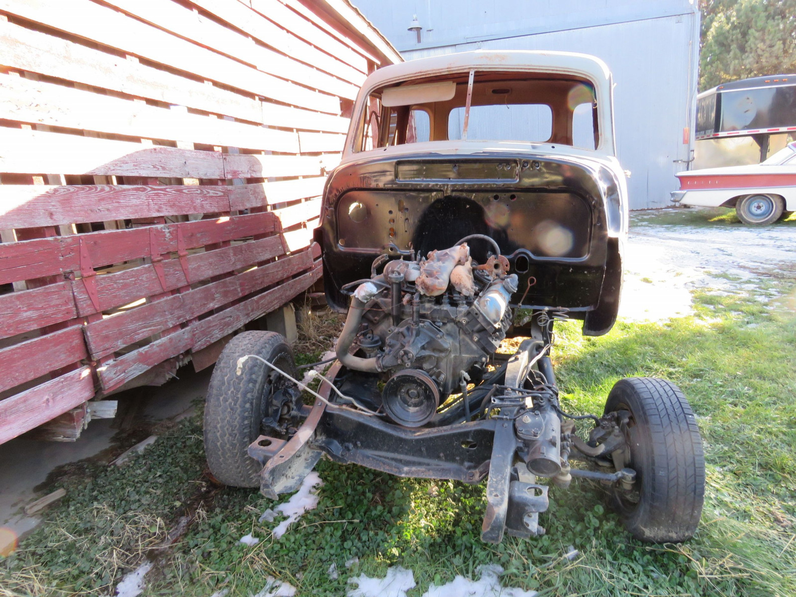1949 Chevrolet 5 Window Cab Pickup Project - Image 2