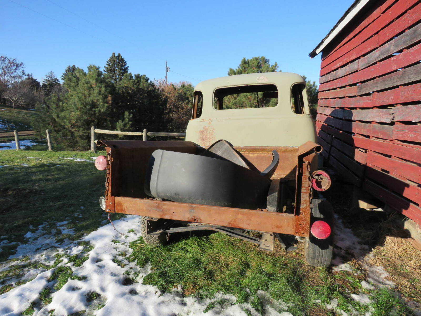 1949 Chevrolet 5 Window Cab Pickup Project - Image 5