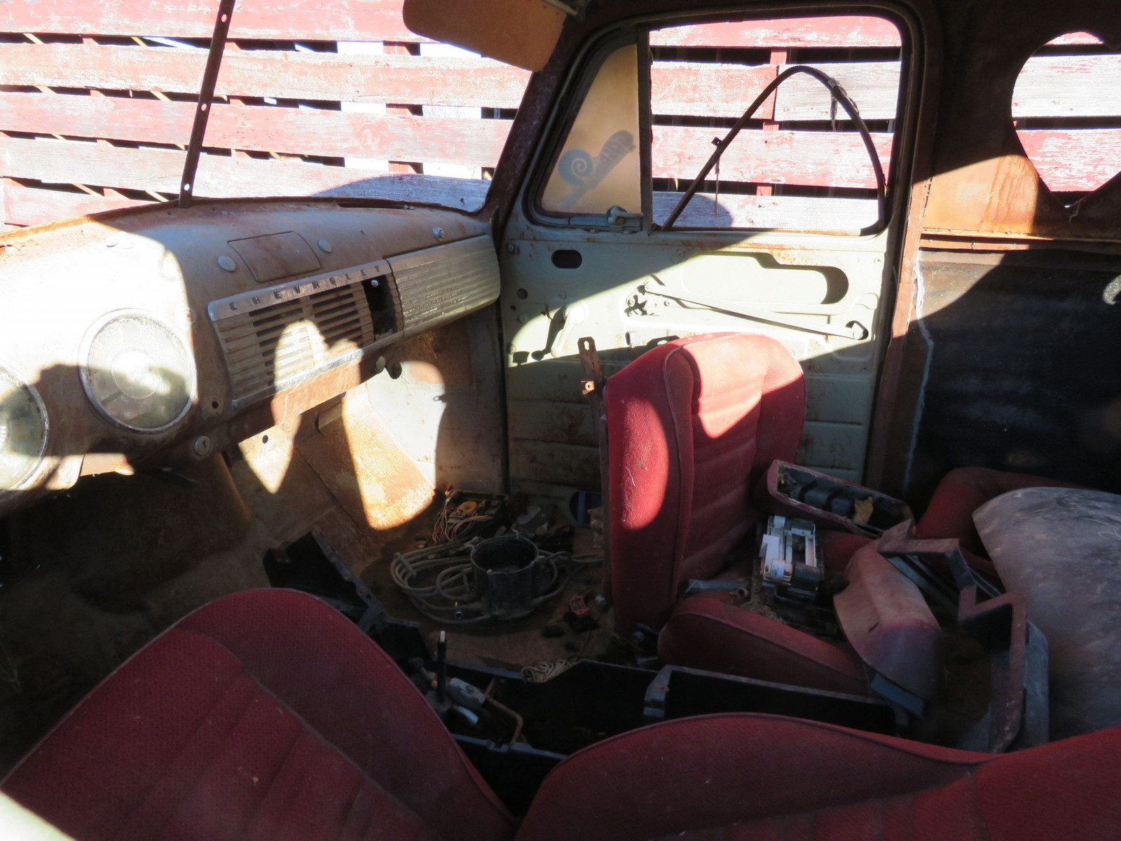 1949 Chevrolet 5 Window Cab Pickup Project - Image 9