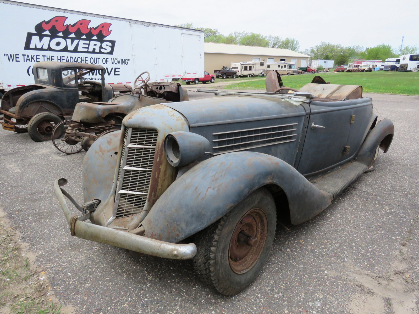 1936 Auburn 852 Roadster for Project - Image 1