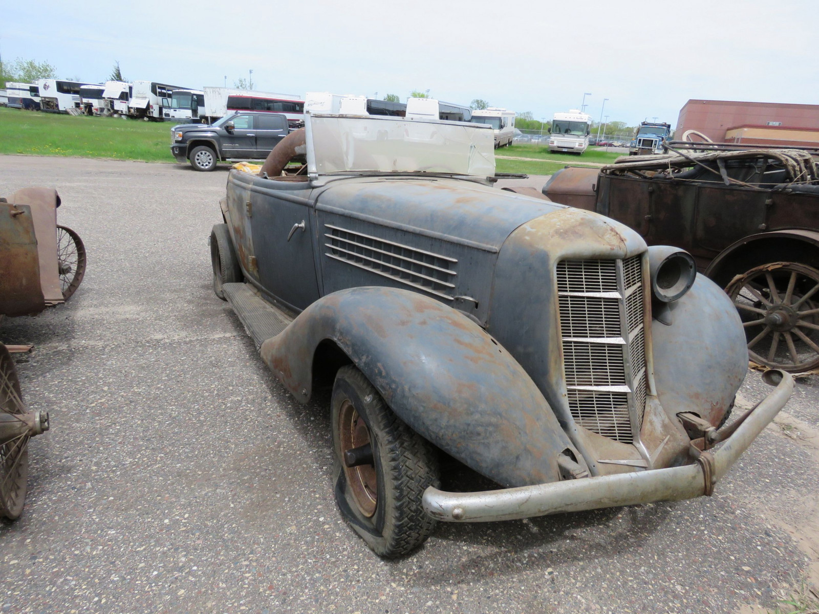 1936 Auburn 852 Roadster for Project - Image 10
