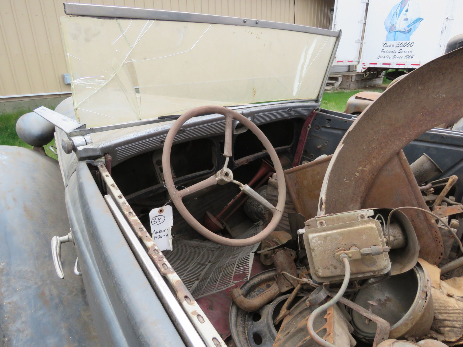 1936 Auburn 852 Roadster for Project - Image 7
