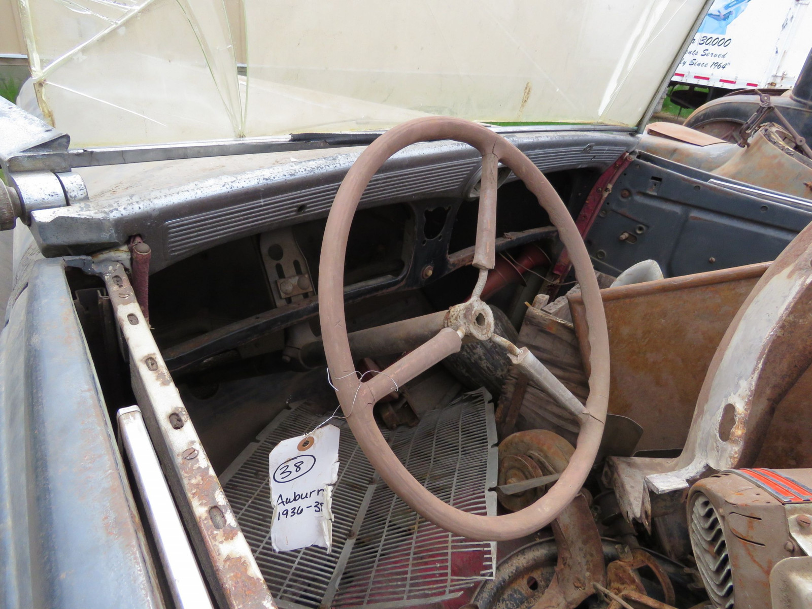 1936 Auburn 852 Roadster for Project - Image 8