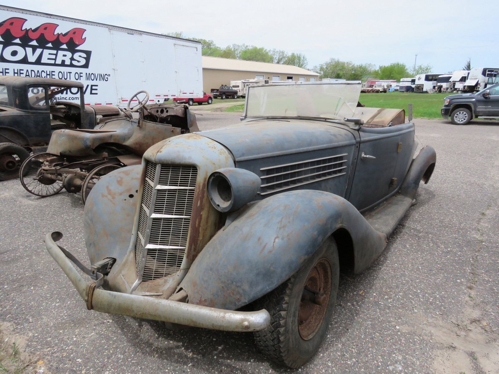 1936 Auburn 852 Roadster for Project - Image 9