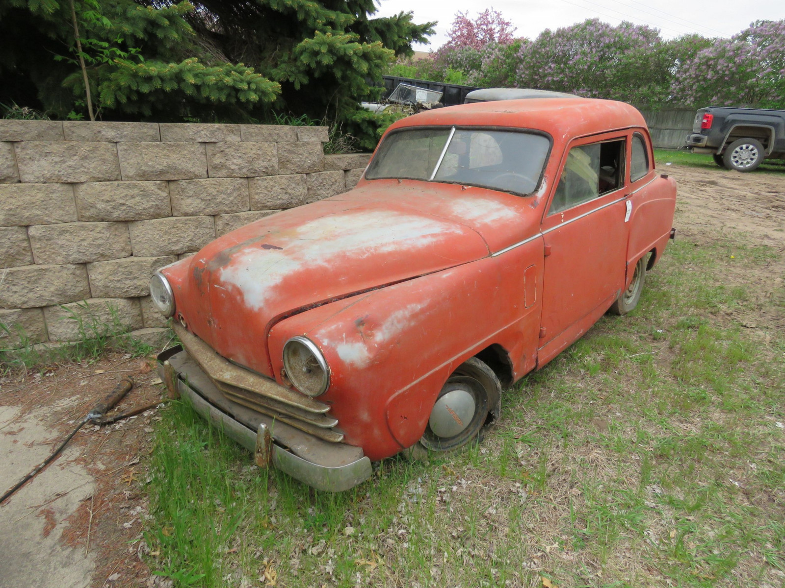 1950's Crosley 2dr Sedan for Project or Parts - Image 1
