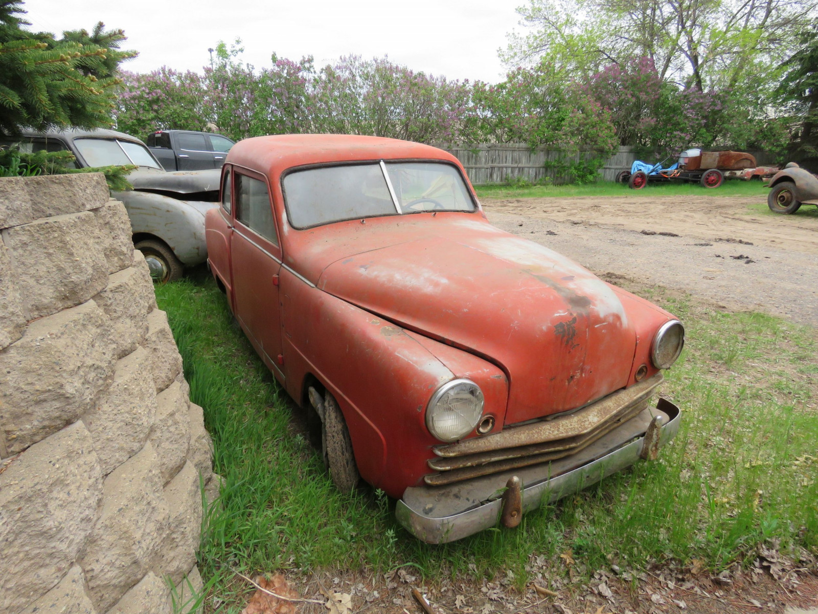 1950's Crosley 2dr Sedan for Project or Parts - Image 2