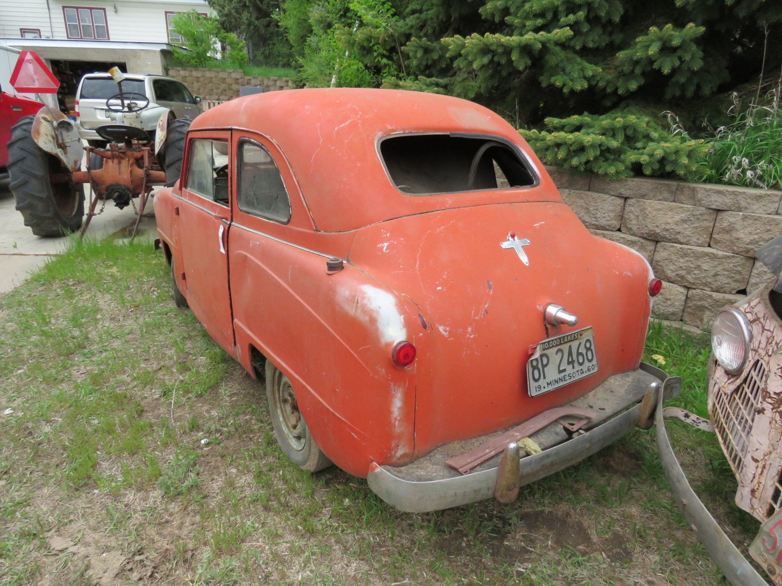 1950's Crosley 2dr Sedan for Project or Parts - Image 3