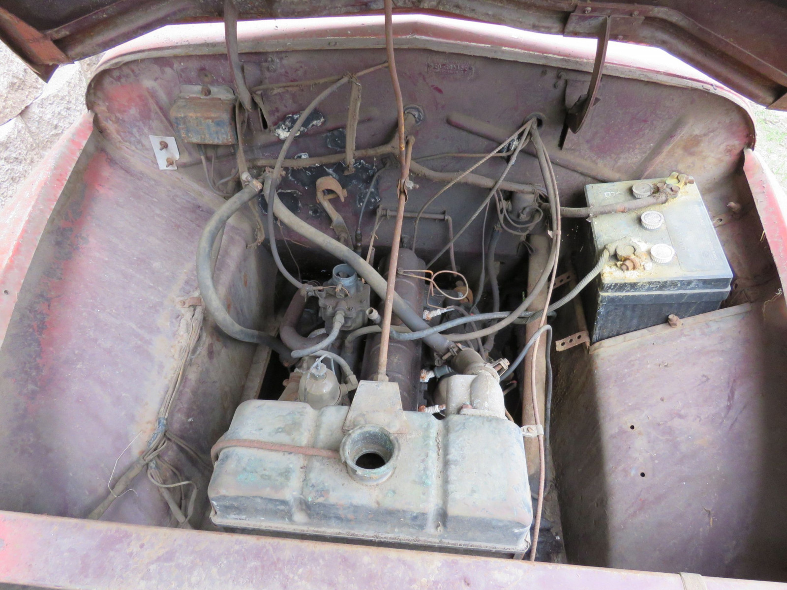 1950's Crosley 2dr Sedan for Project or Parts - Image 5