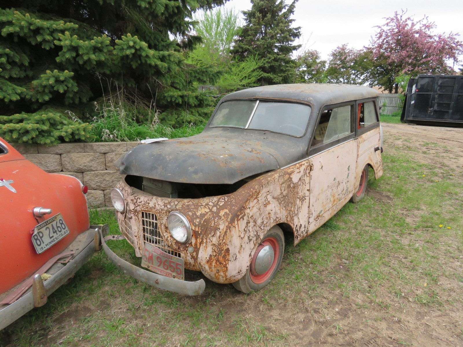 1950's 2dr Wagon for Project or Parts - Image 1