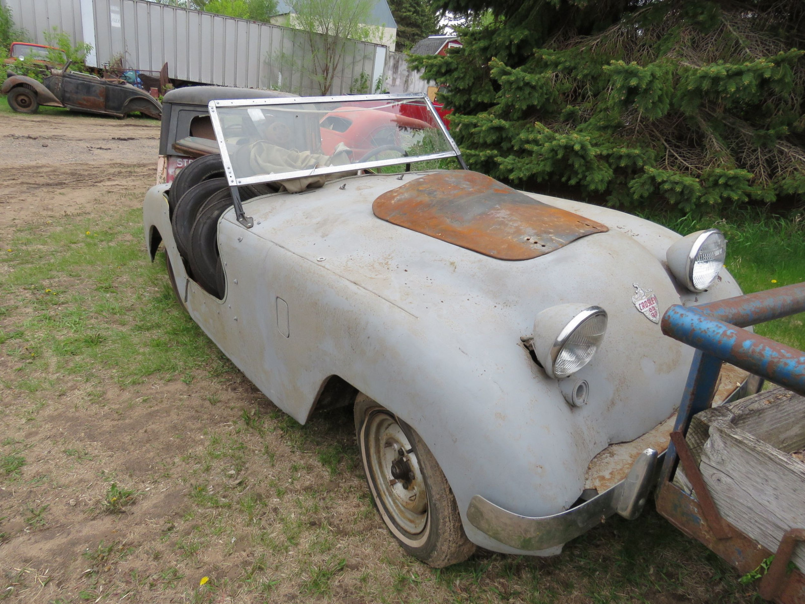 1950 Crosley Hotshot Convertible Project - Image 1