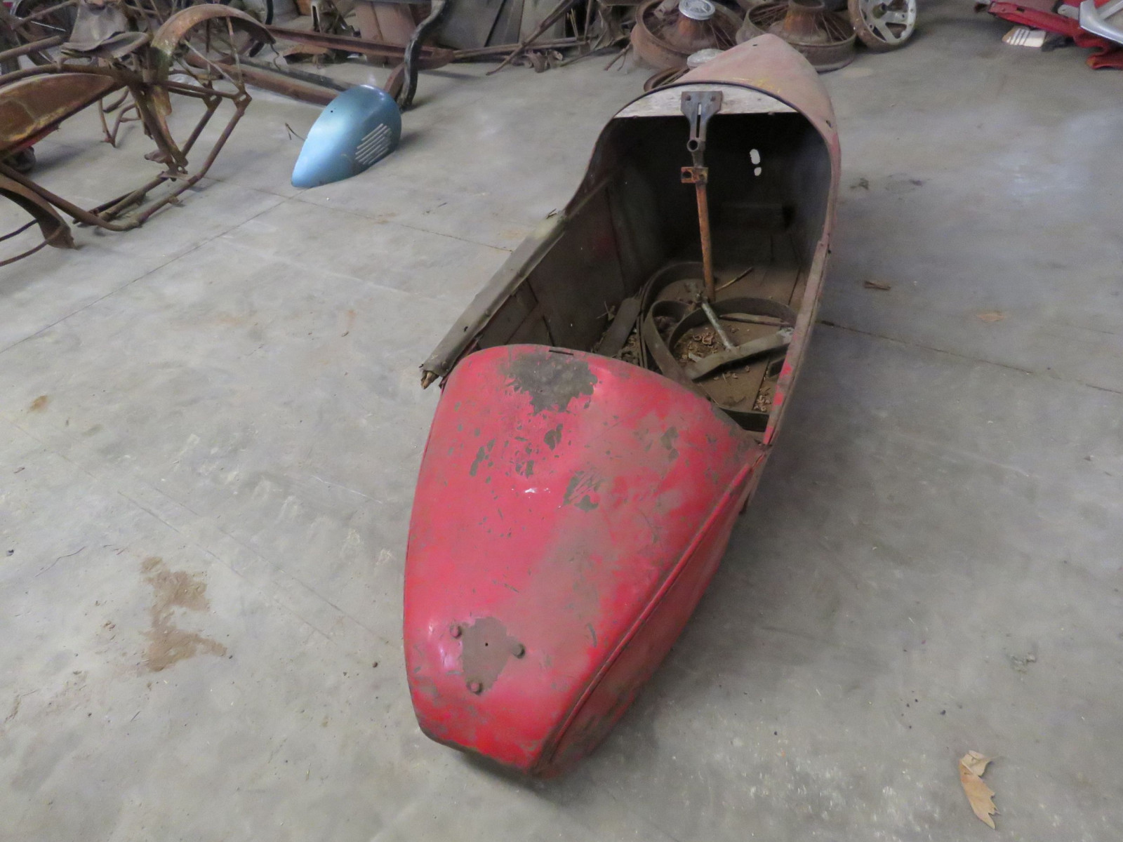 RARE Indian Motorcycle Side Car - Image 3