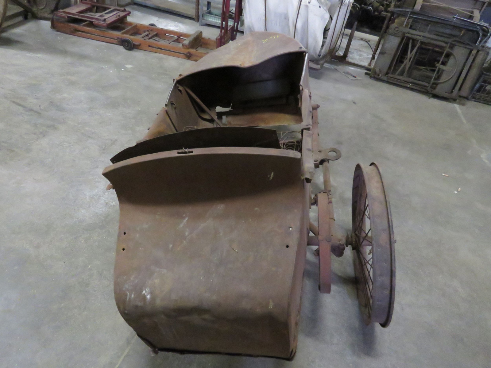 RARE Harley Davidson Motorcycle Side Car - Image 2