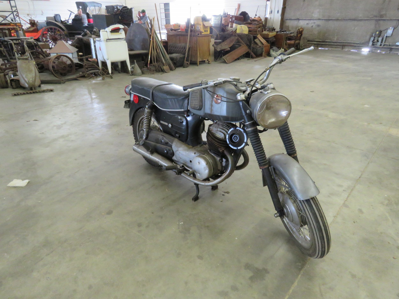 1950's Sears Pugh Chez Motorcycle - Image 3