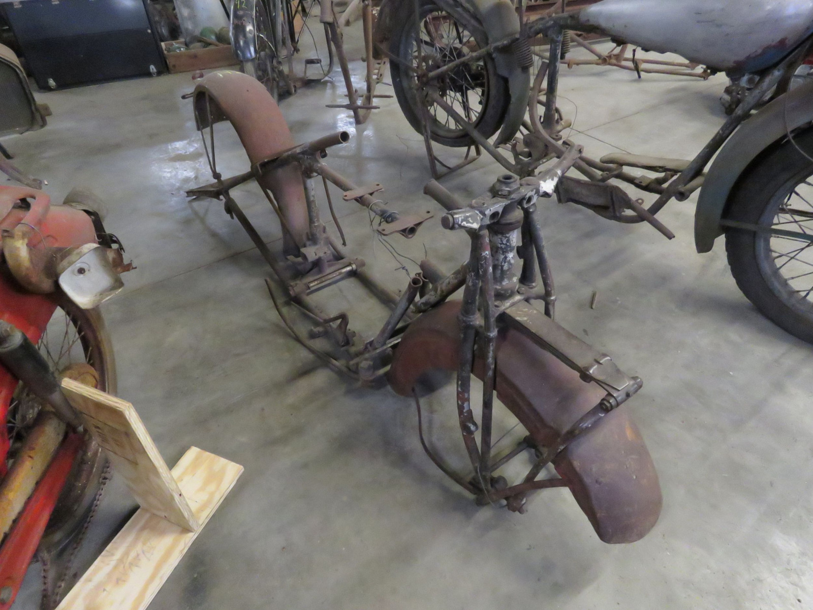 Vintage Indian Motorcycle Frame Project - Image 1