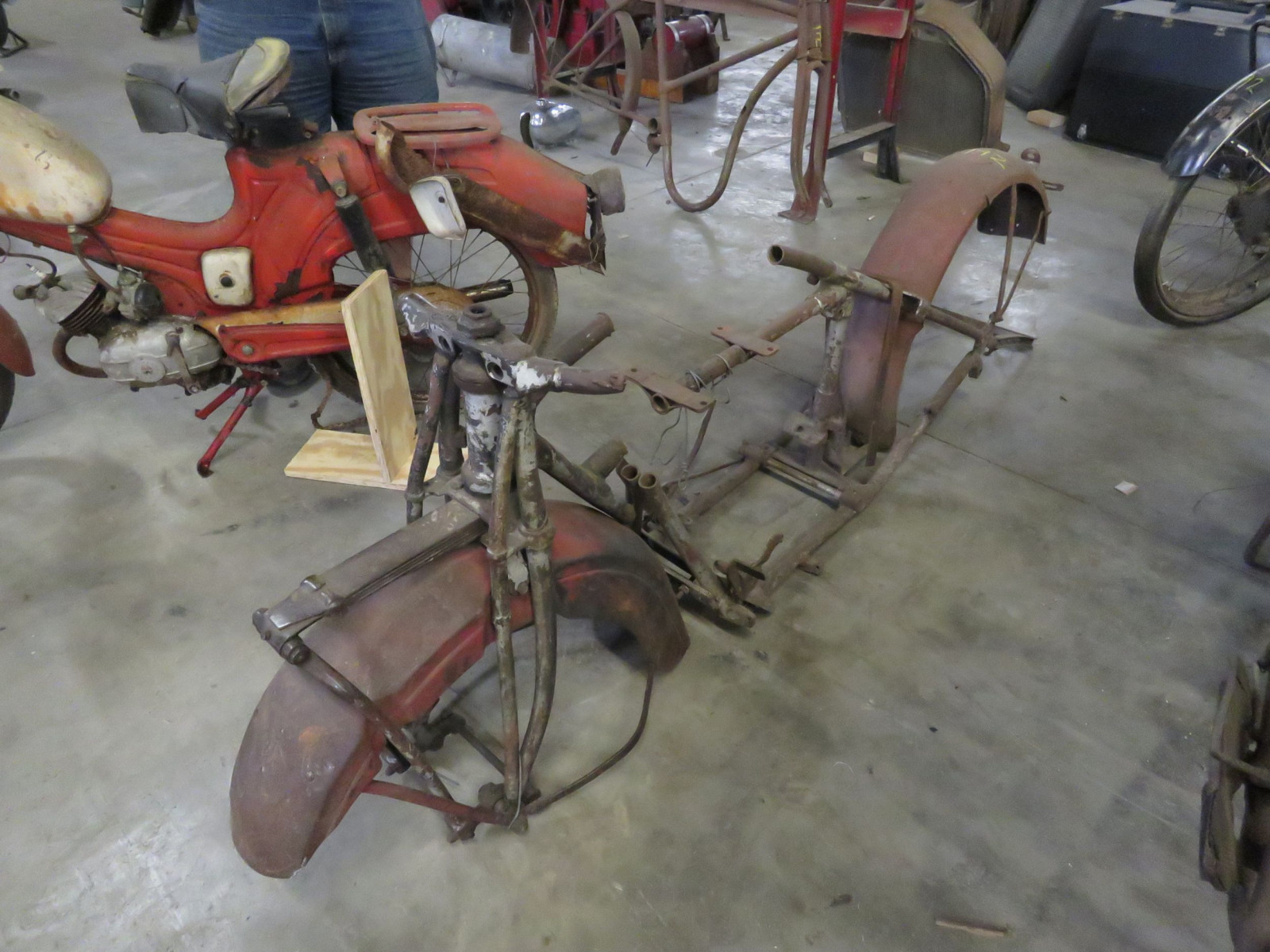Vintage Indian Motorcycle Frame Project - Image 2