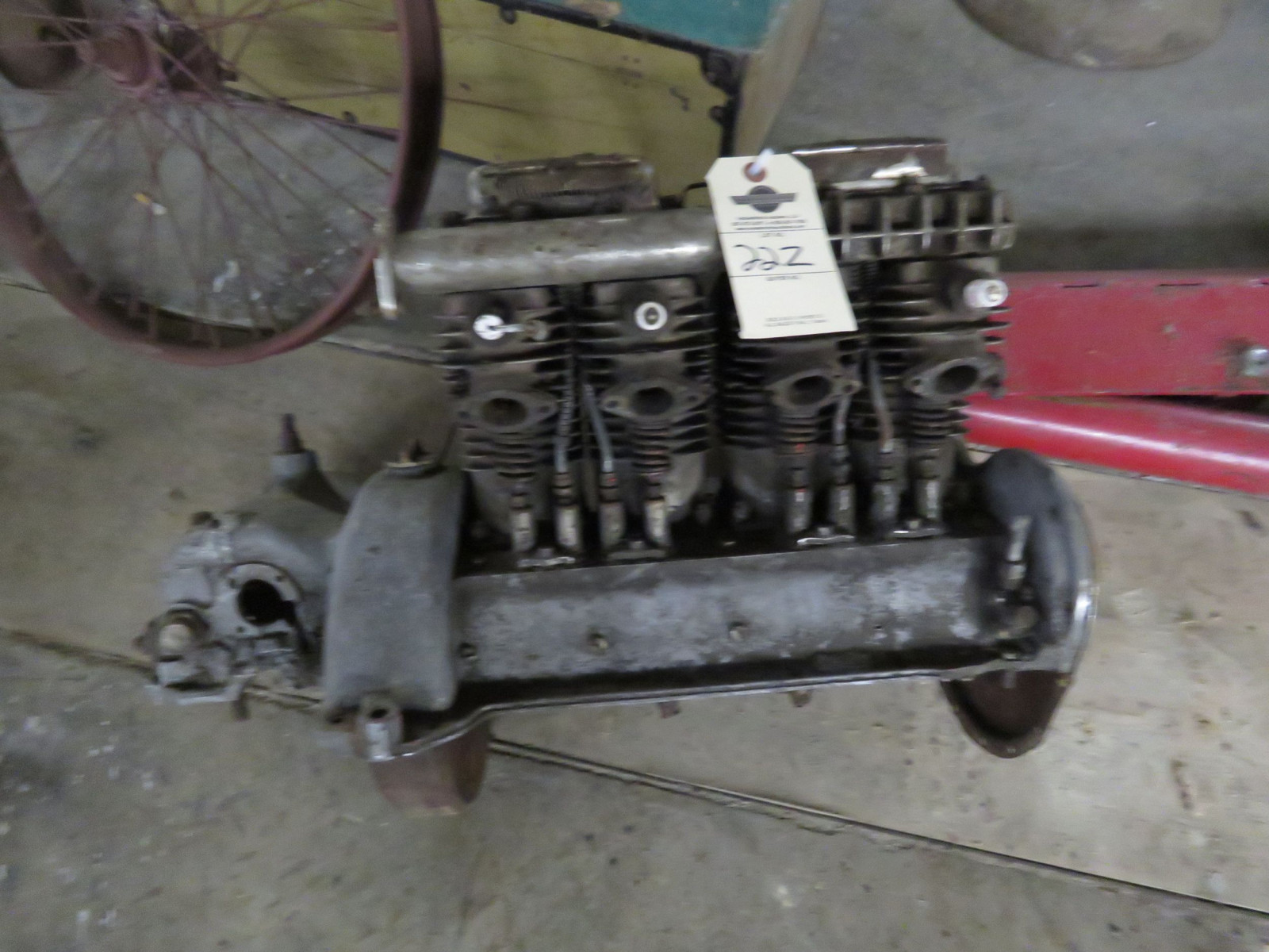 RARE 1930's Indian 4 cylinder Motorcycle - Image 13
