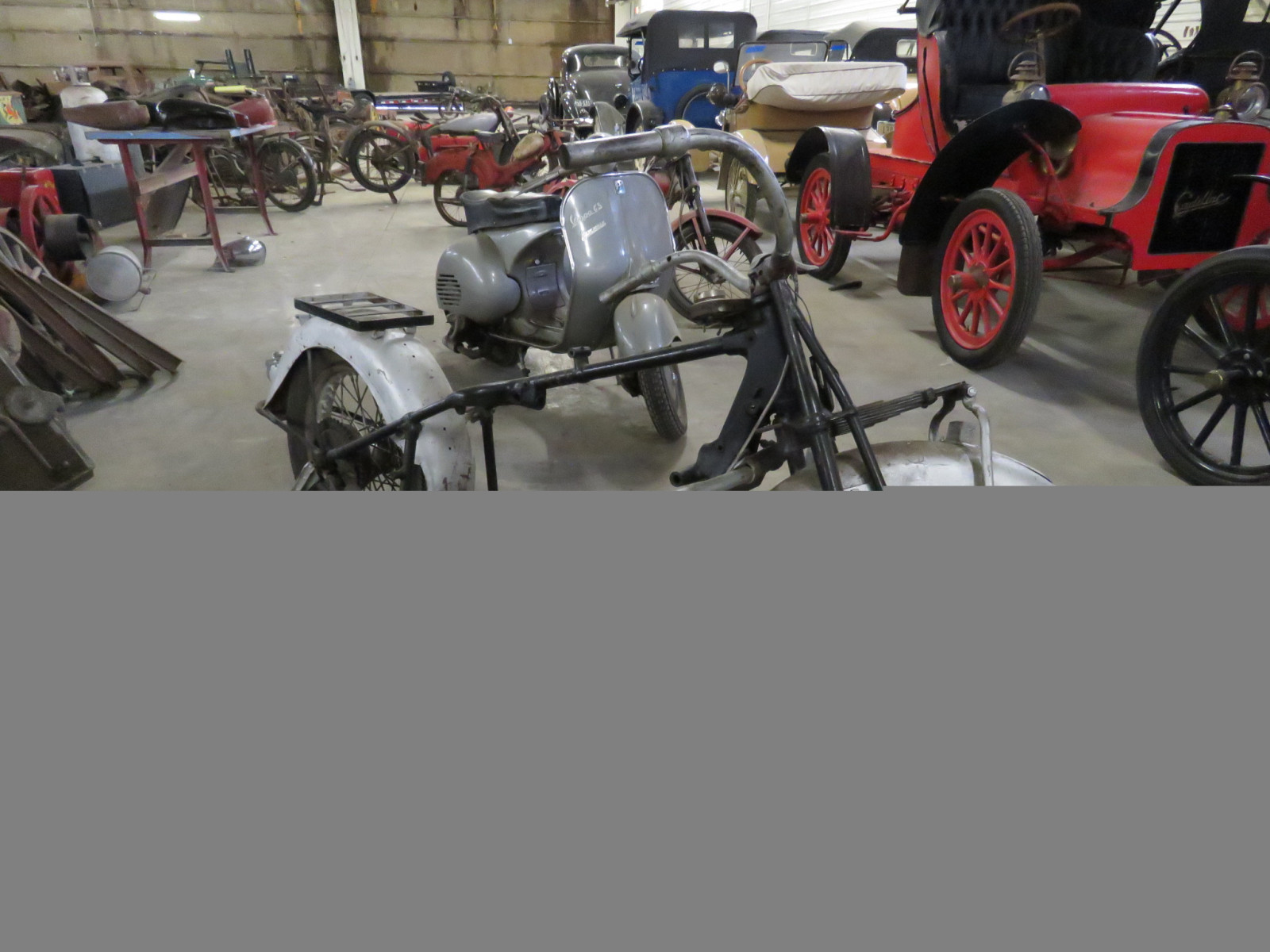 RARE 1930's Indian 4 cylinder Motorcycle - Image 2