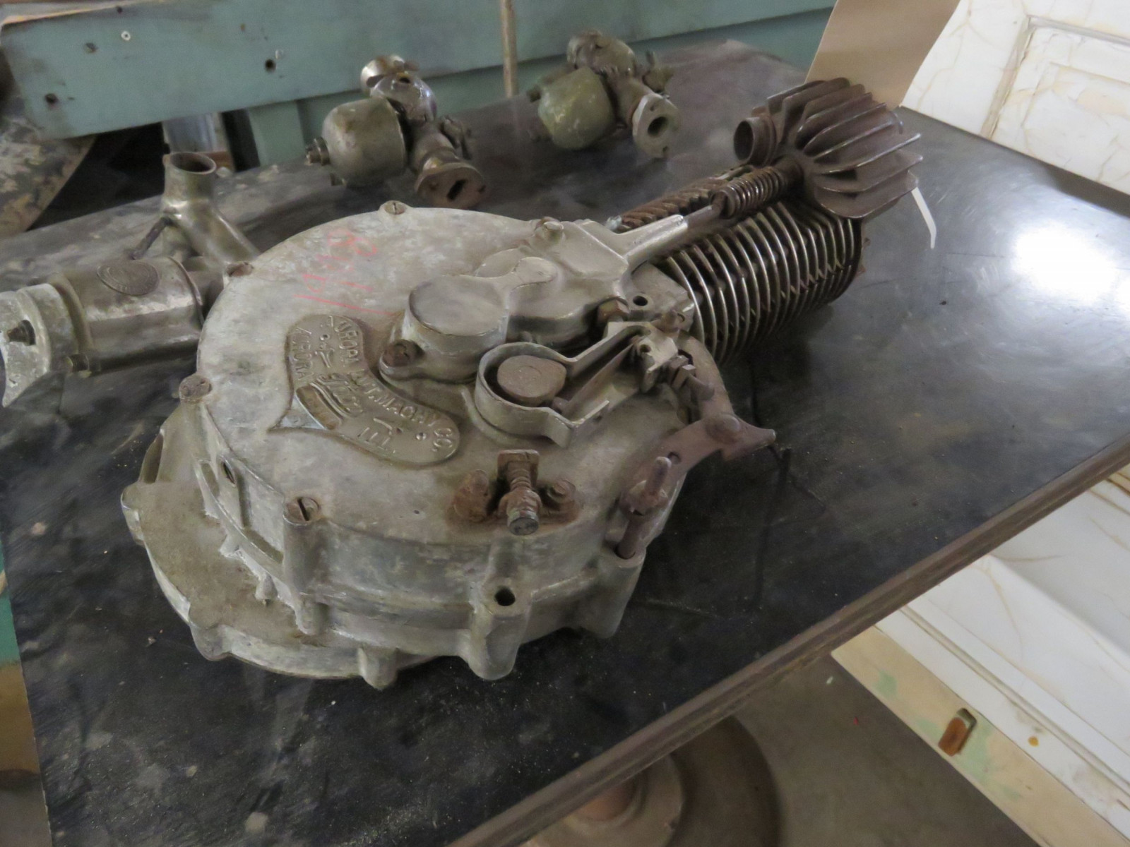 RARE Thor Motorcycle Upright Single Cylinder Motor - Image 4