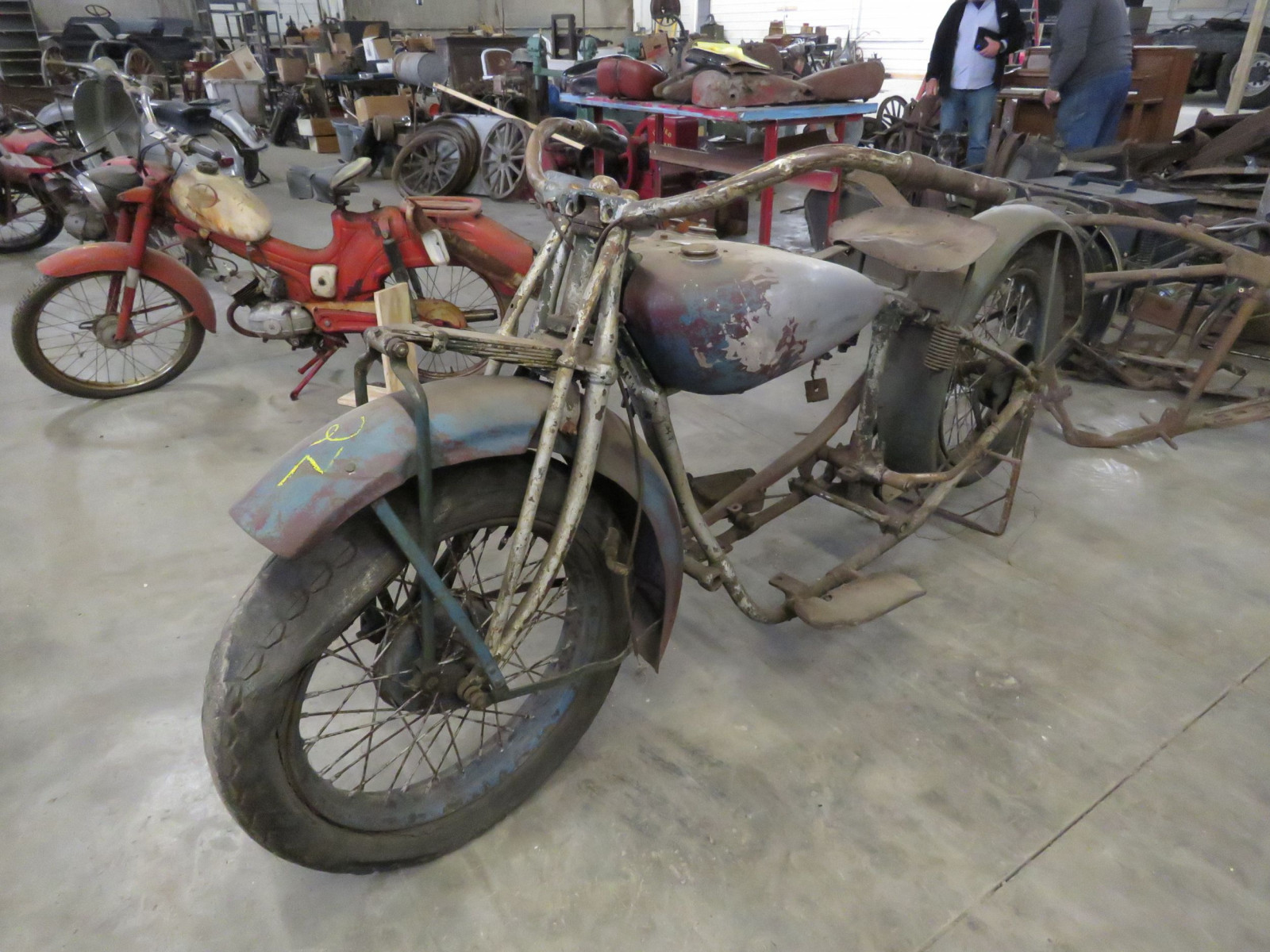 RARE 1929 Indian V-Twin Motorcycle - Image 1