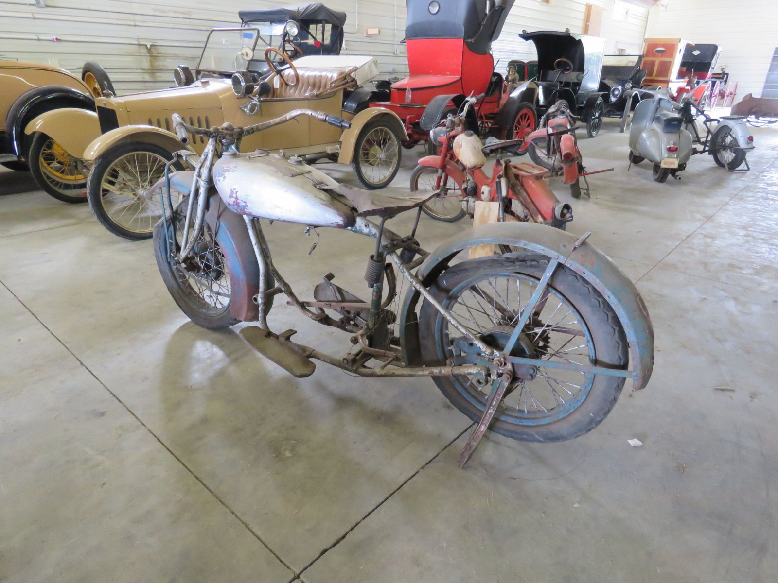 RARE 1929 Indian V-Twin Motorcycle - Image 14