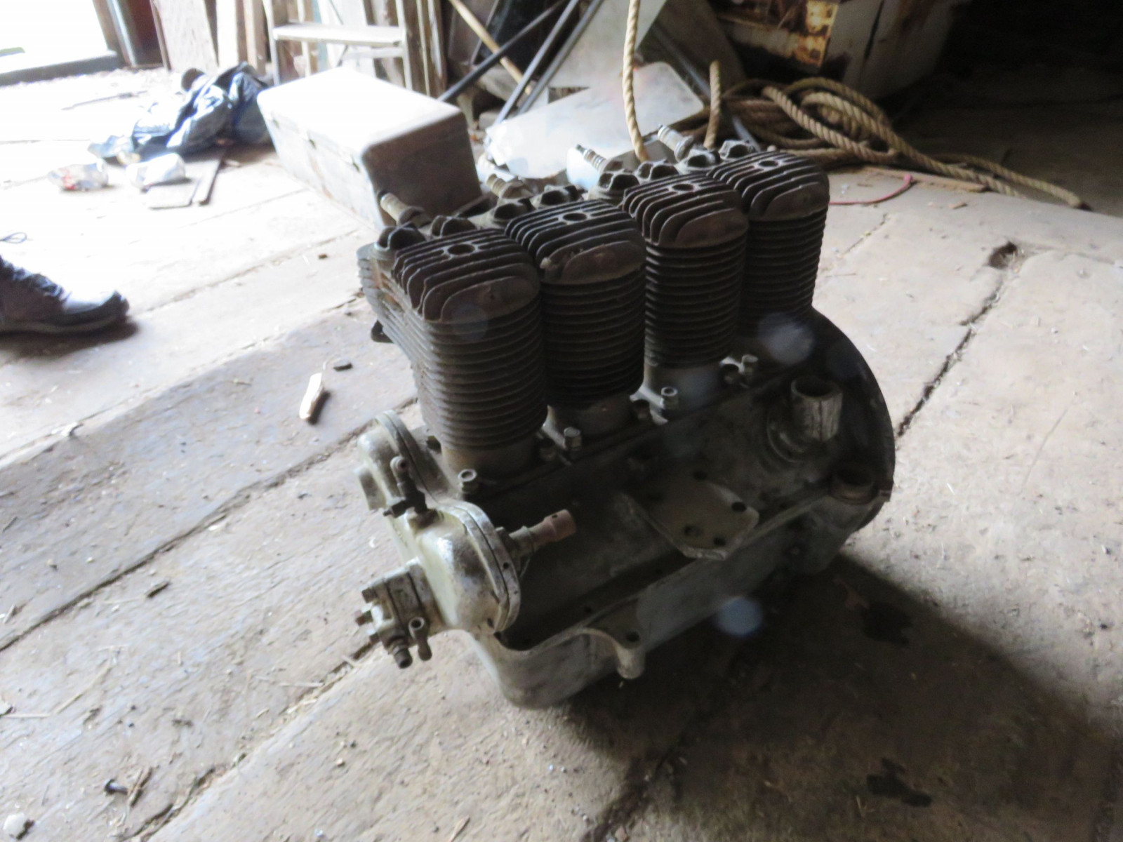 Rare Henderson Motorcycle Cutaway 4 cylinder motor - Image 3