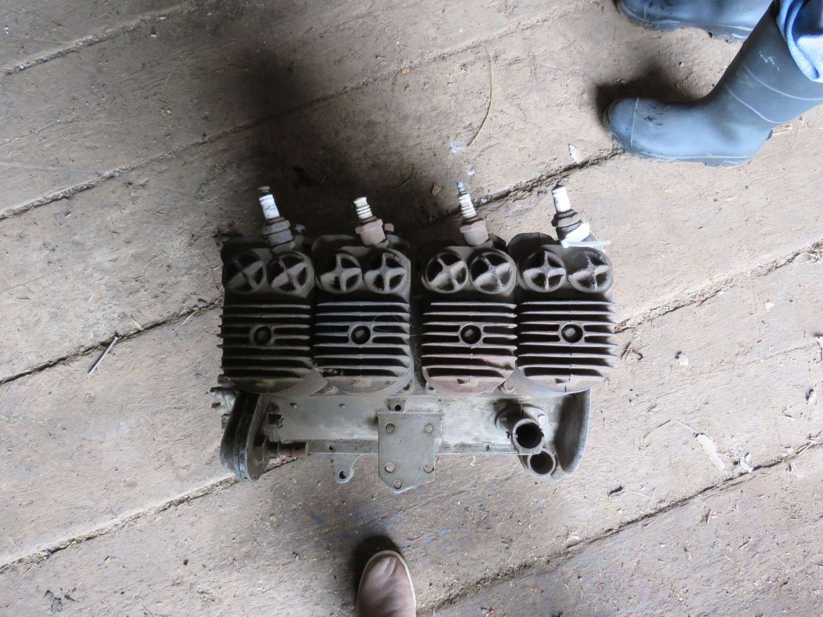 Rare Henderson Motorcycle Cutaway 4 cylinder motor - Image 7