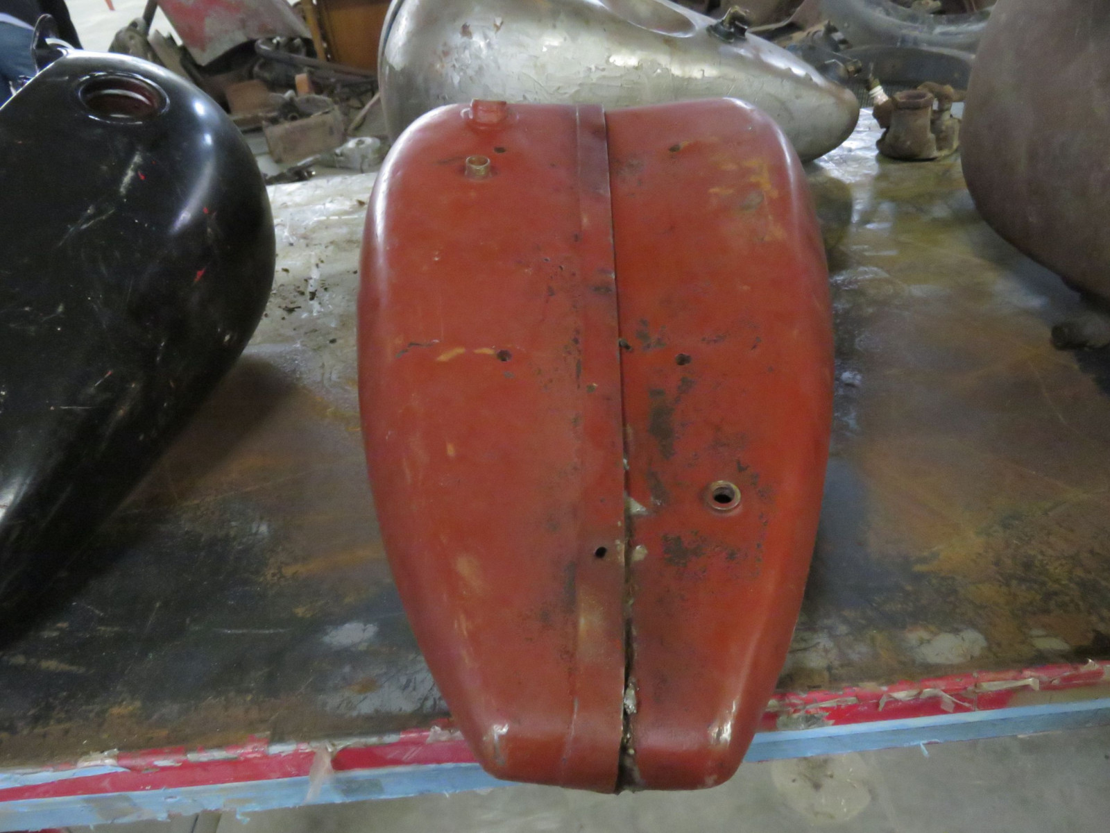 Early Indian Motorcycle Tank - Image 2