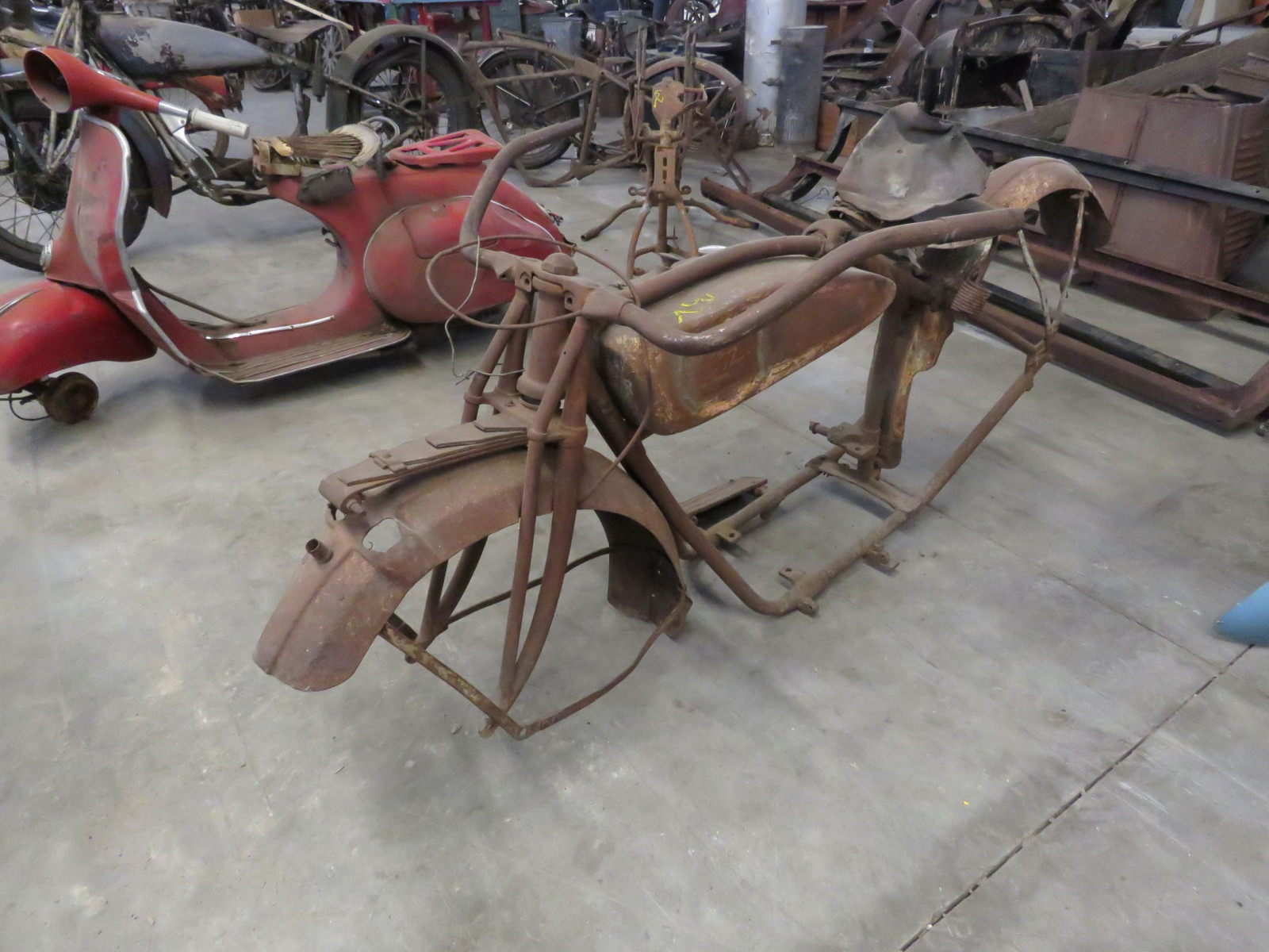 RARE 1920's Indian Motorcycle Project - Image 1