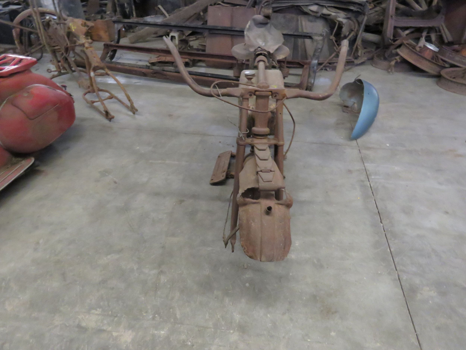RARE 1920's Indian Motorcycle Project - Image 2