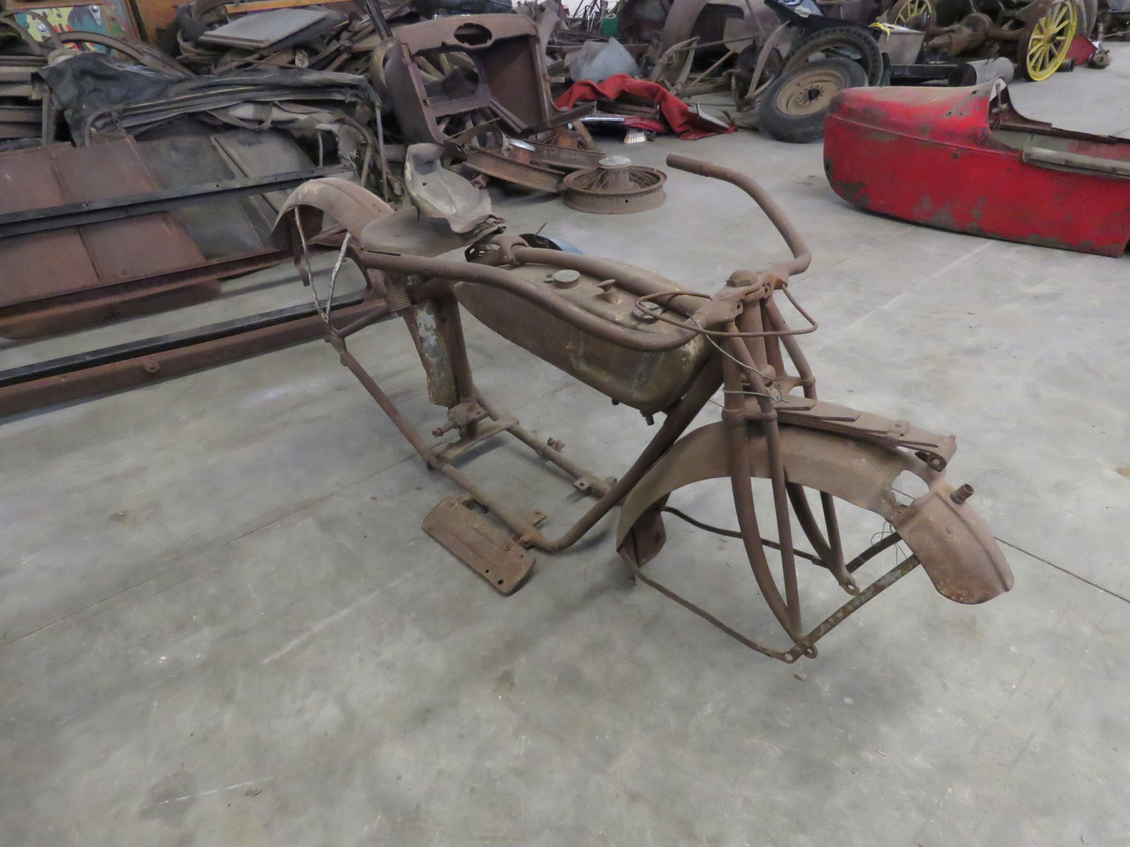 RARE 1920's Indian Motorcycle Project - Image 3
