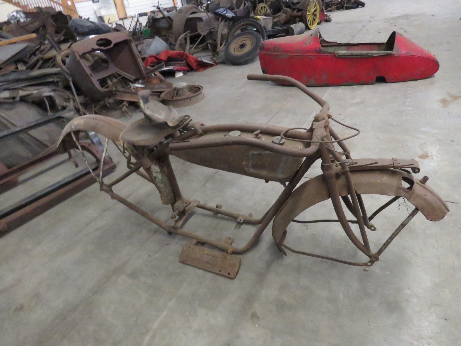 RARE 1920's Indian Motorcycle Project - Image 4