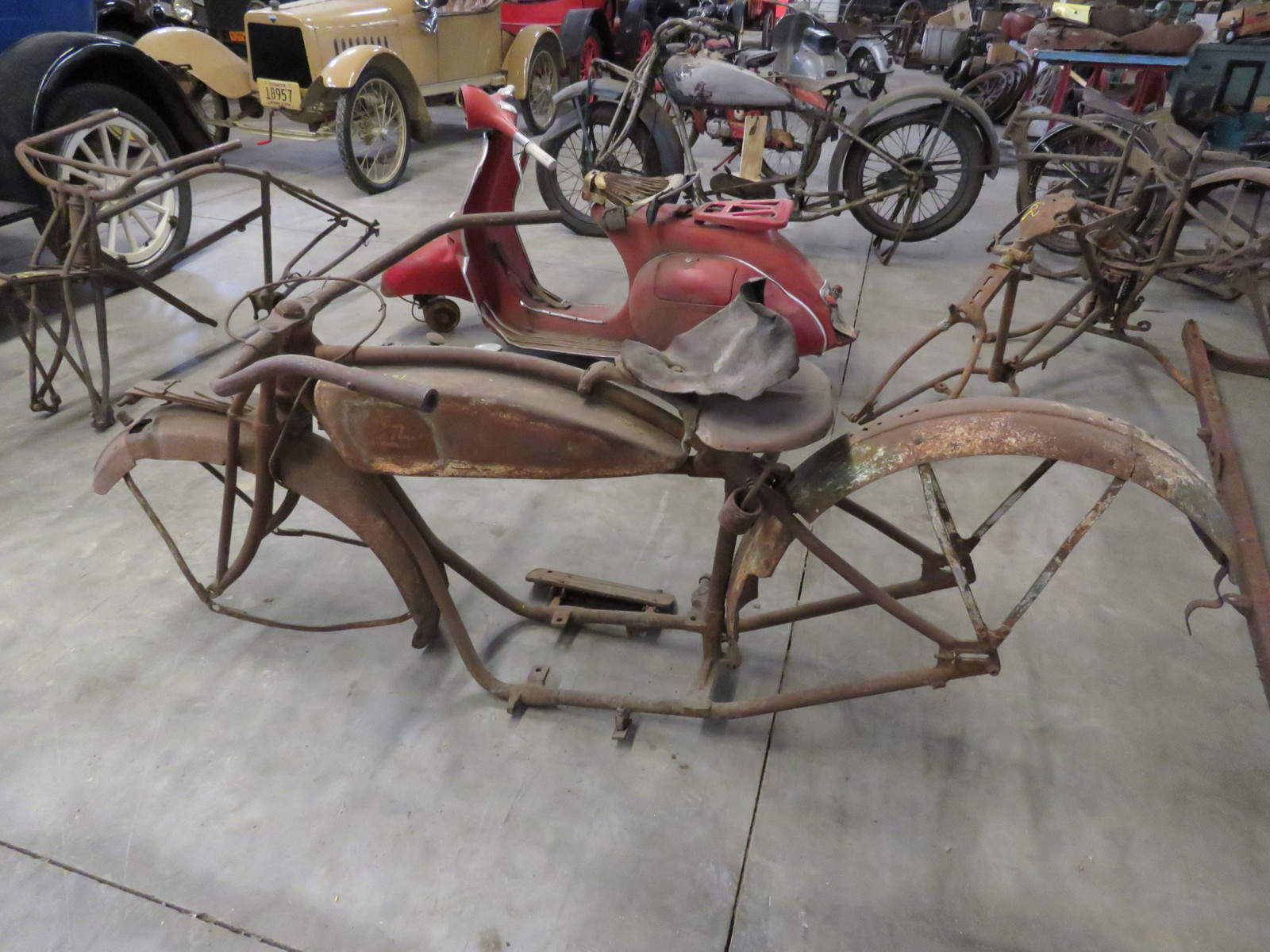RARE 1920's Indian Motorcycle Project - Image 5