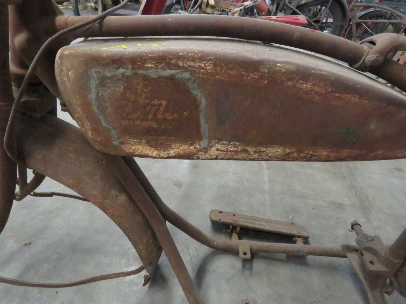 RARE 1920's Indian Motorcycle Project - Image 6