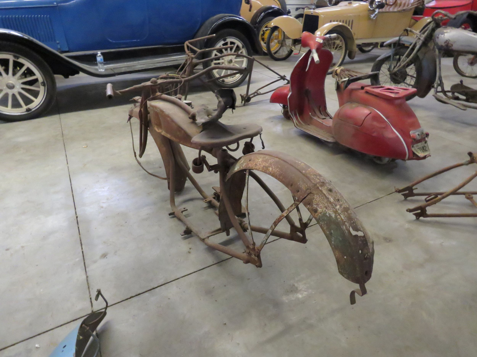 RARE 1920's Indian Motorcycle Project - Image 7