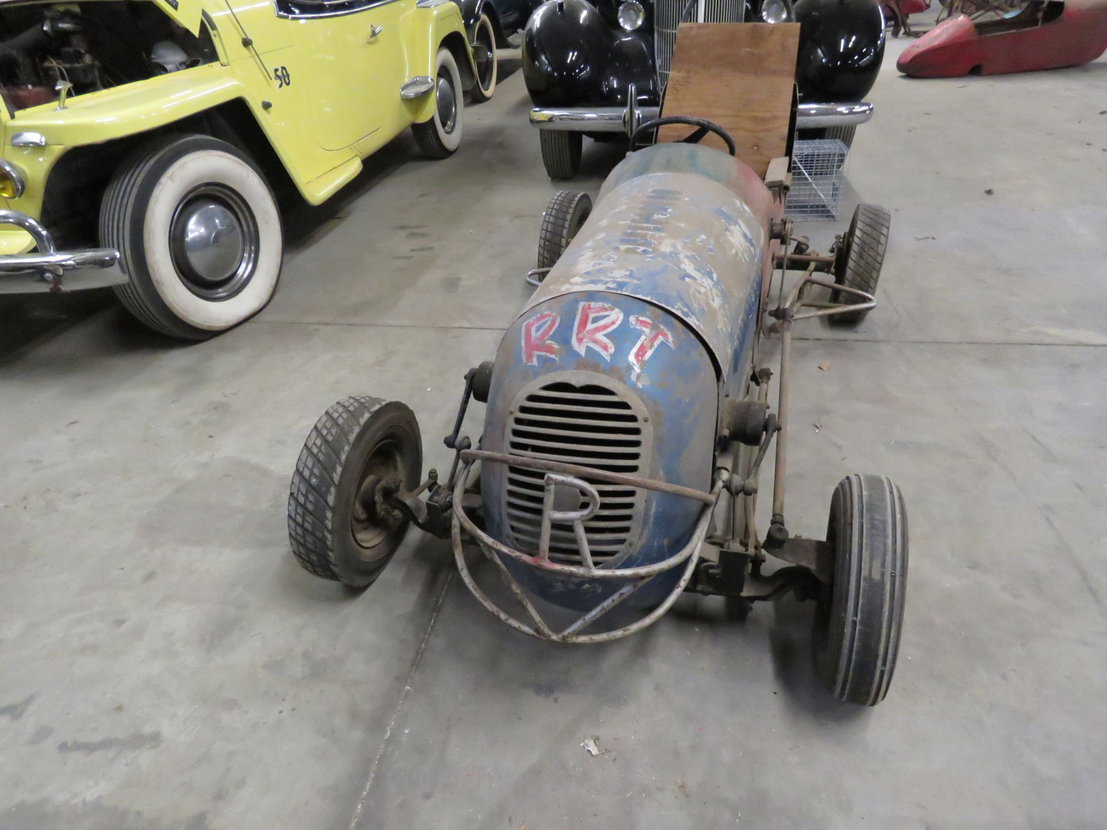 Vintage Early 1/4 Midget Race Car - Image 2