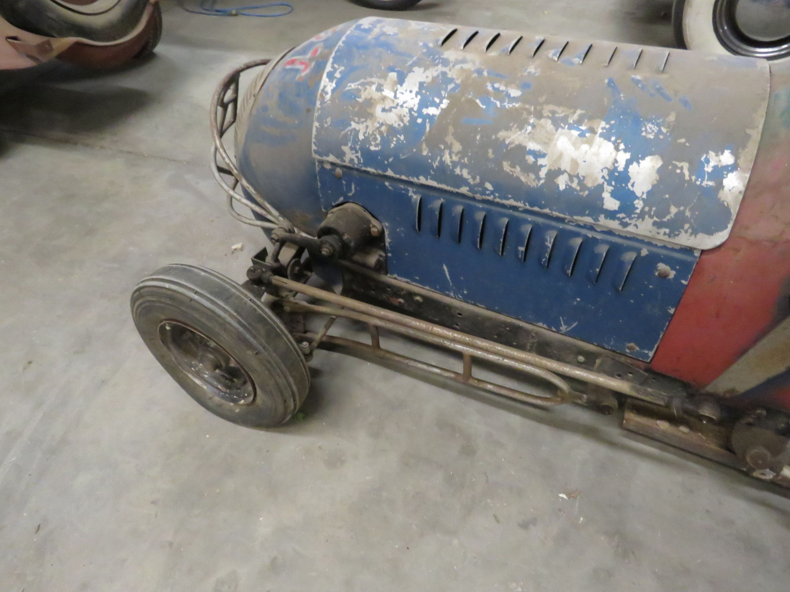 Vintage Early 1/4 Midget Race Car - Image 7