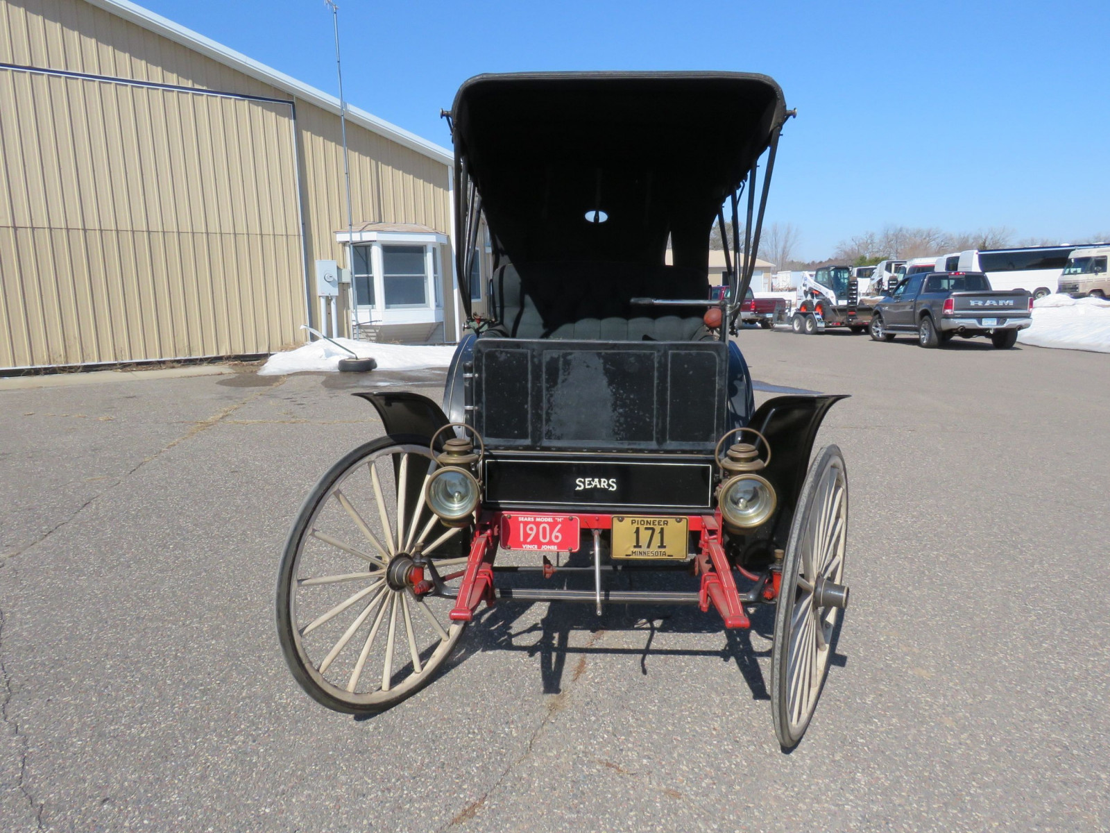 1908 Sears Model H Runabout - Image 2