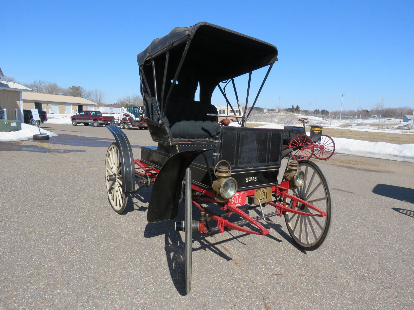 1908 Sears Model H Runabout - Image 3