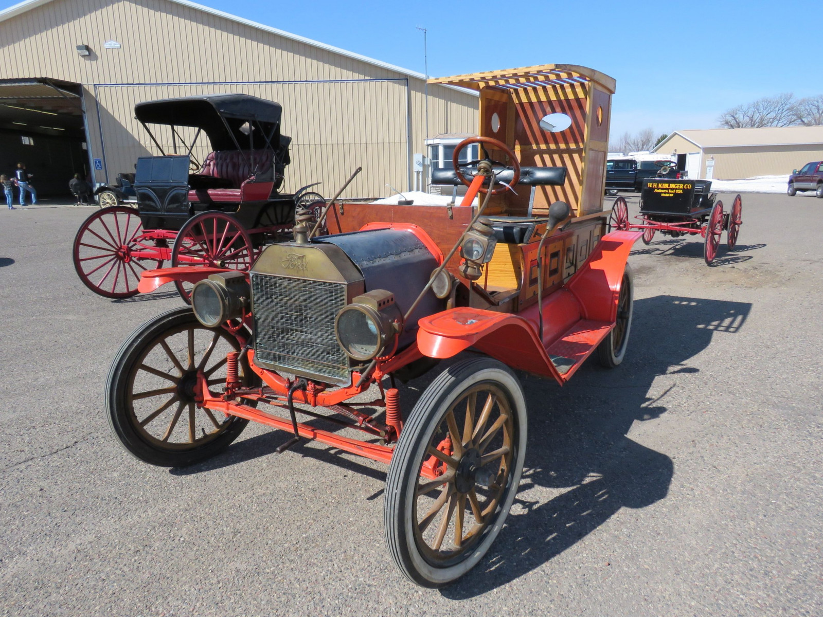 1913 Ford Model T Firetruck - Image 1