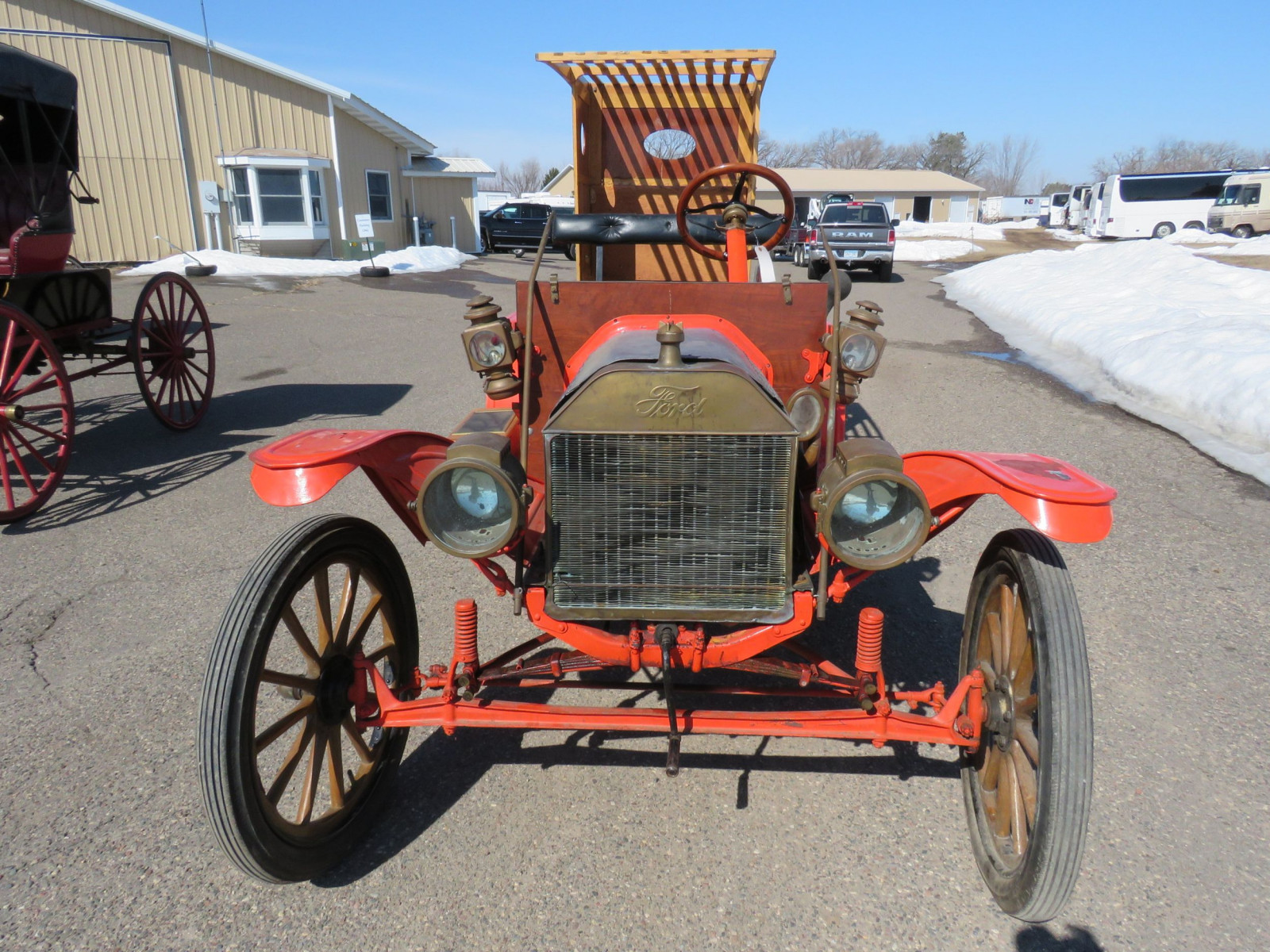 1913 Ford Model T Firetruck - Image 2