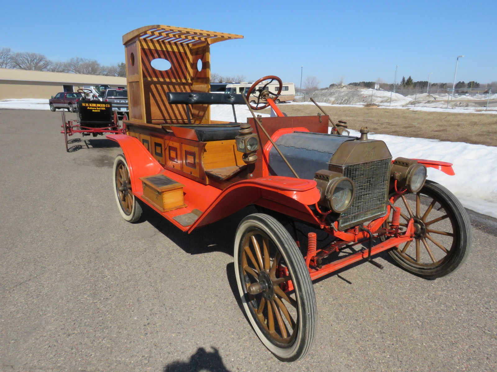 1913 Ford Model T Firetruck - Image 3