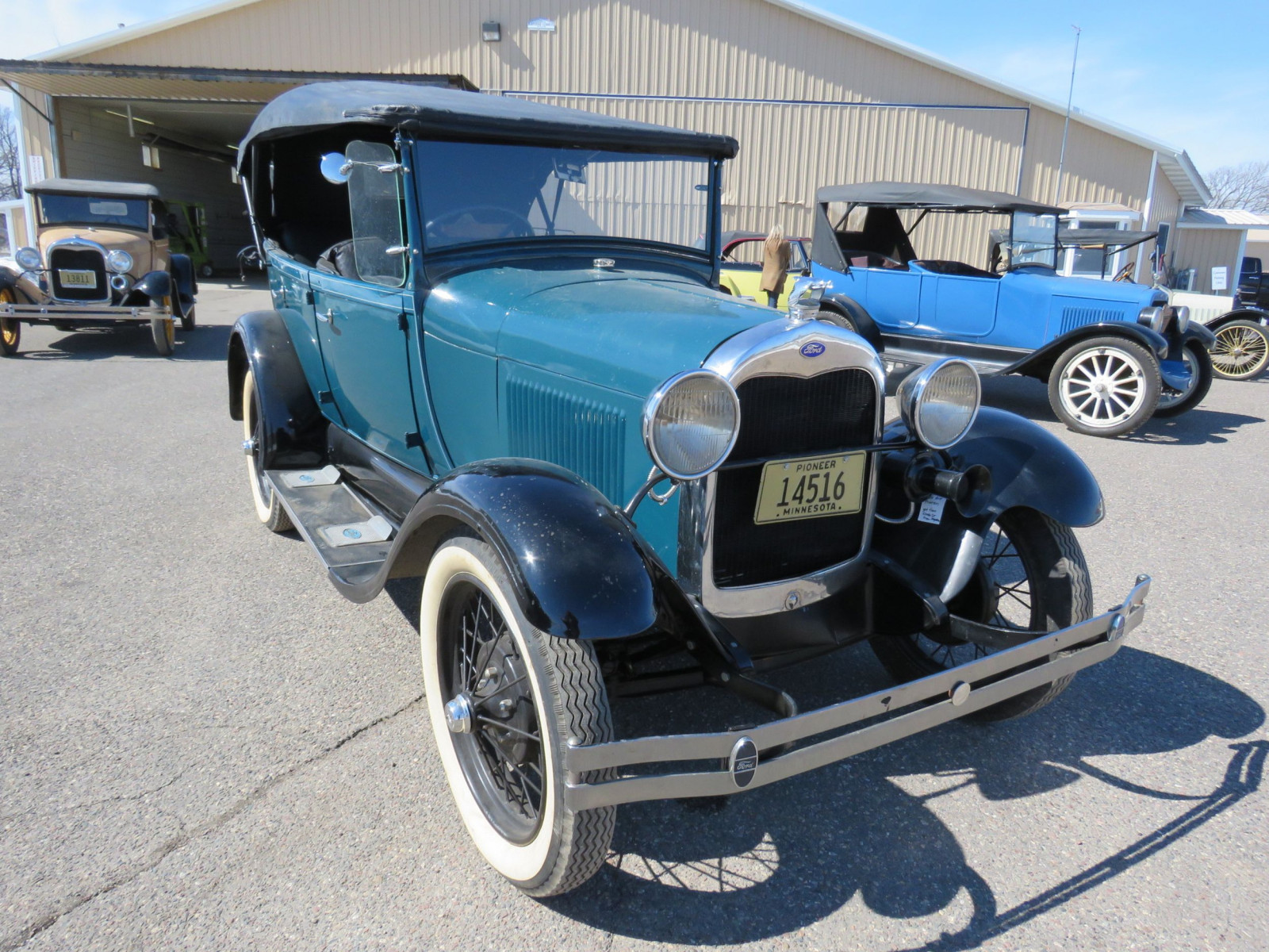 1929 Ford Model A Phaeton - Image 16