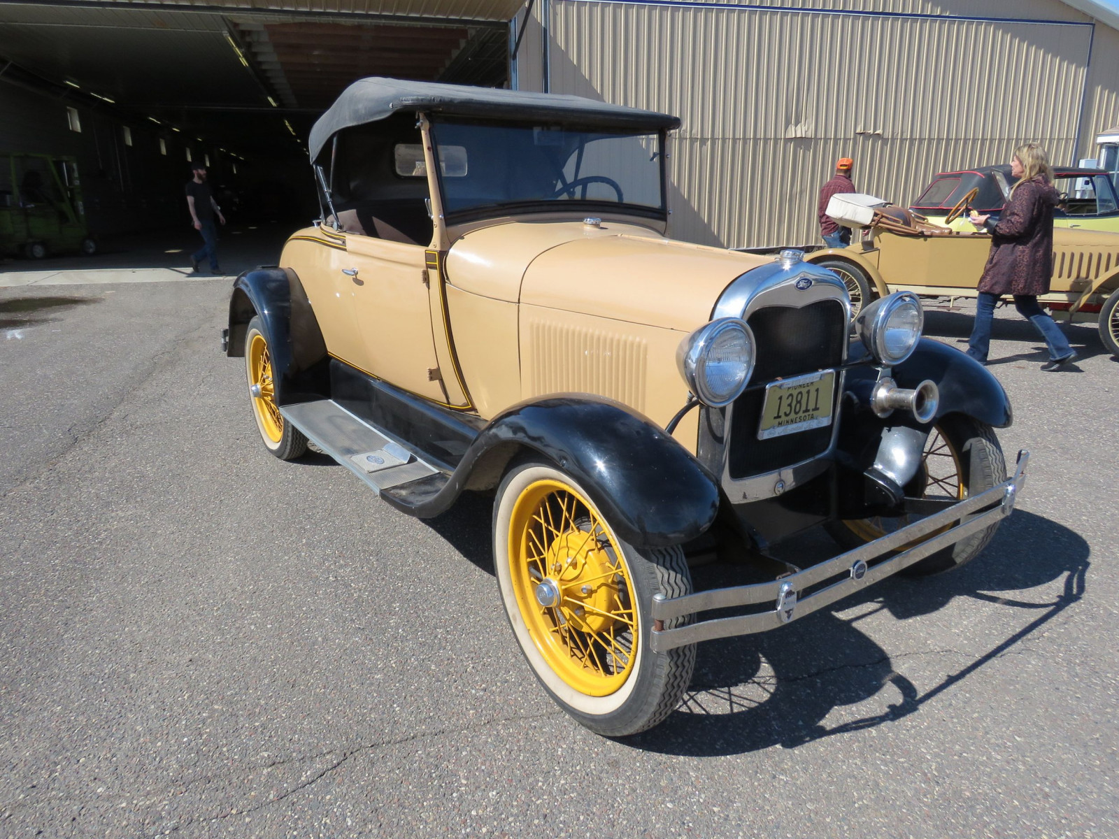 1929 Ford Model A Roadster - Image 6
