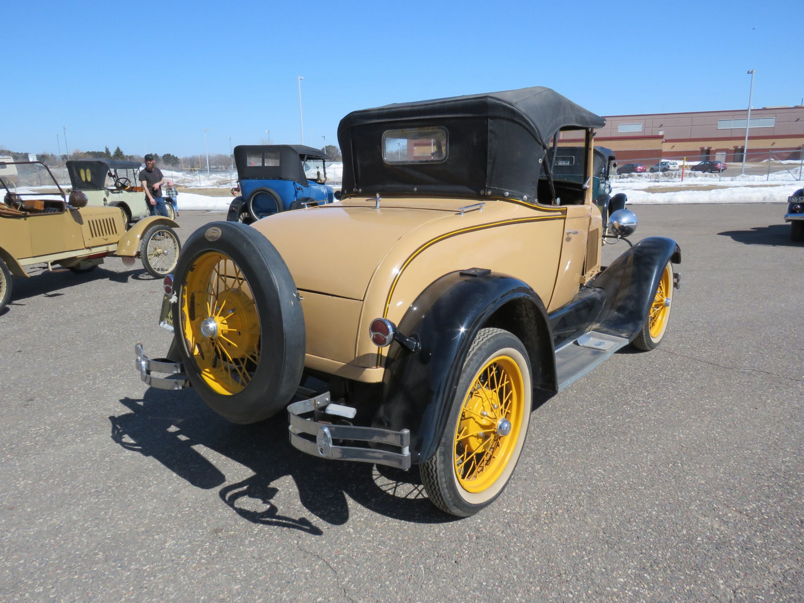 1929 Ford Model A Roadster - Image 8