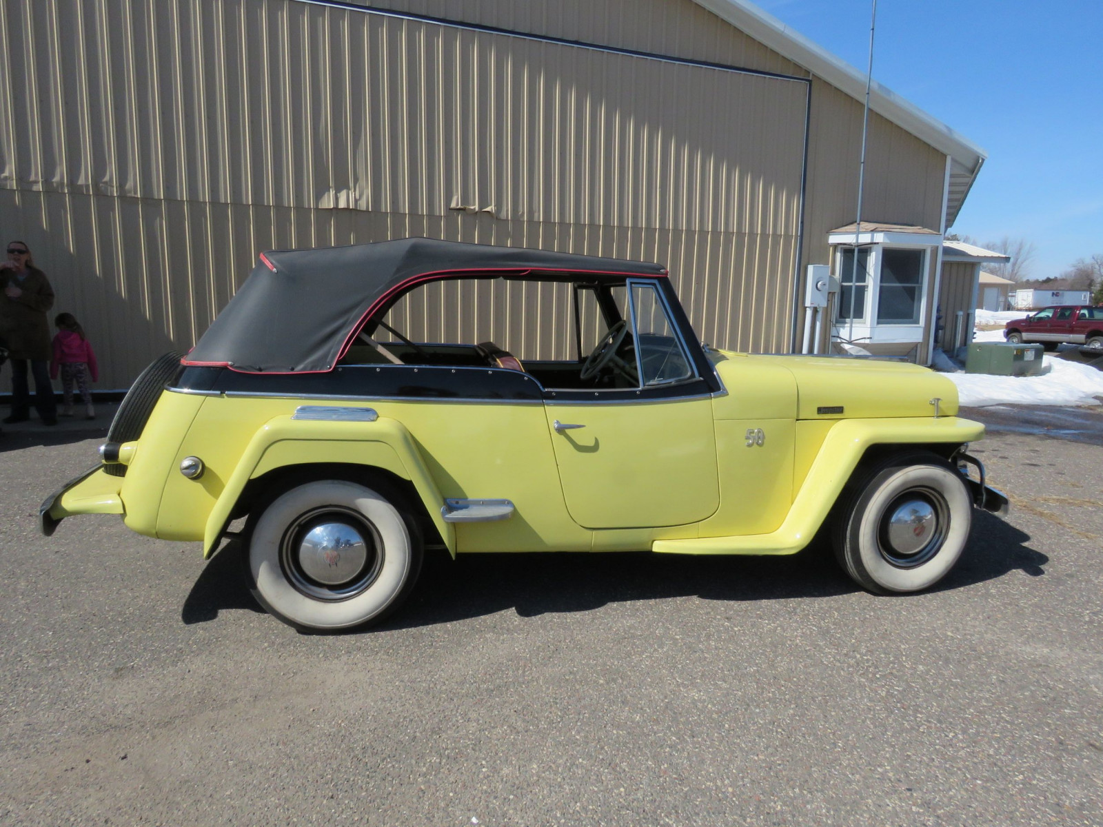 1948 Willys Jeepster - Image 7