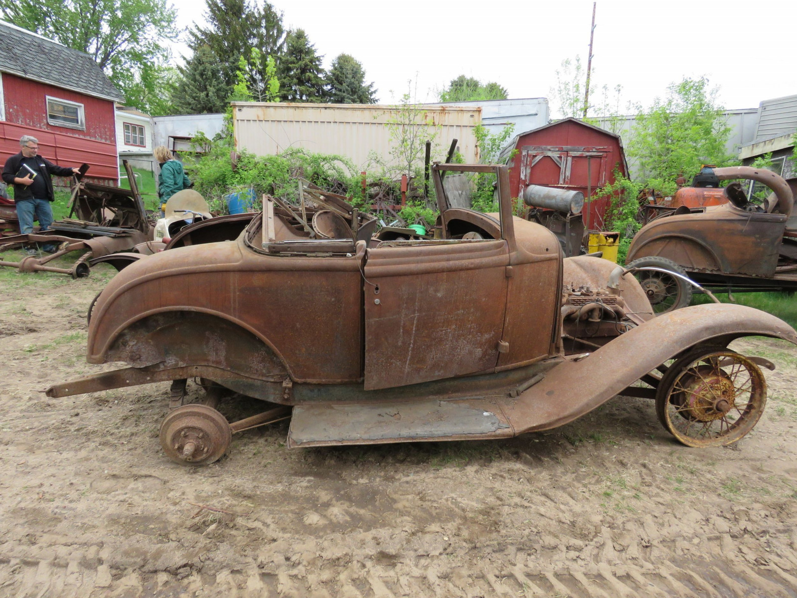 RARE 1932 Ford Cabriolet Project - Image 9