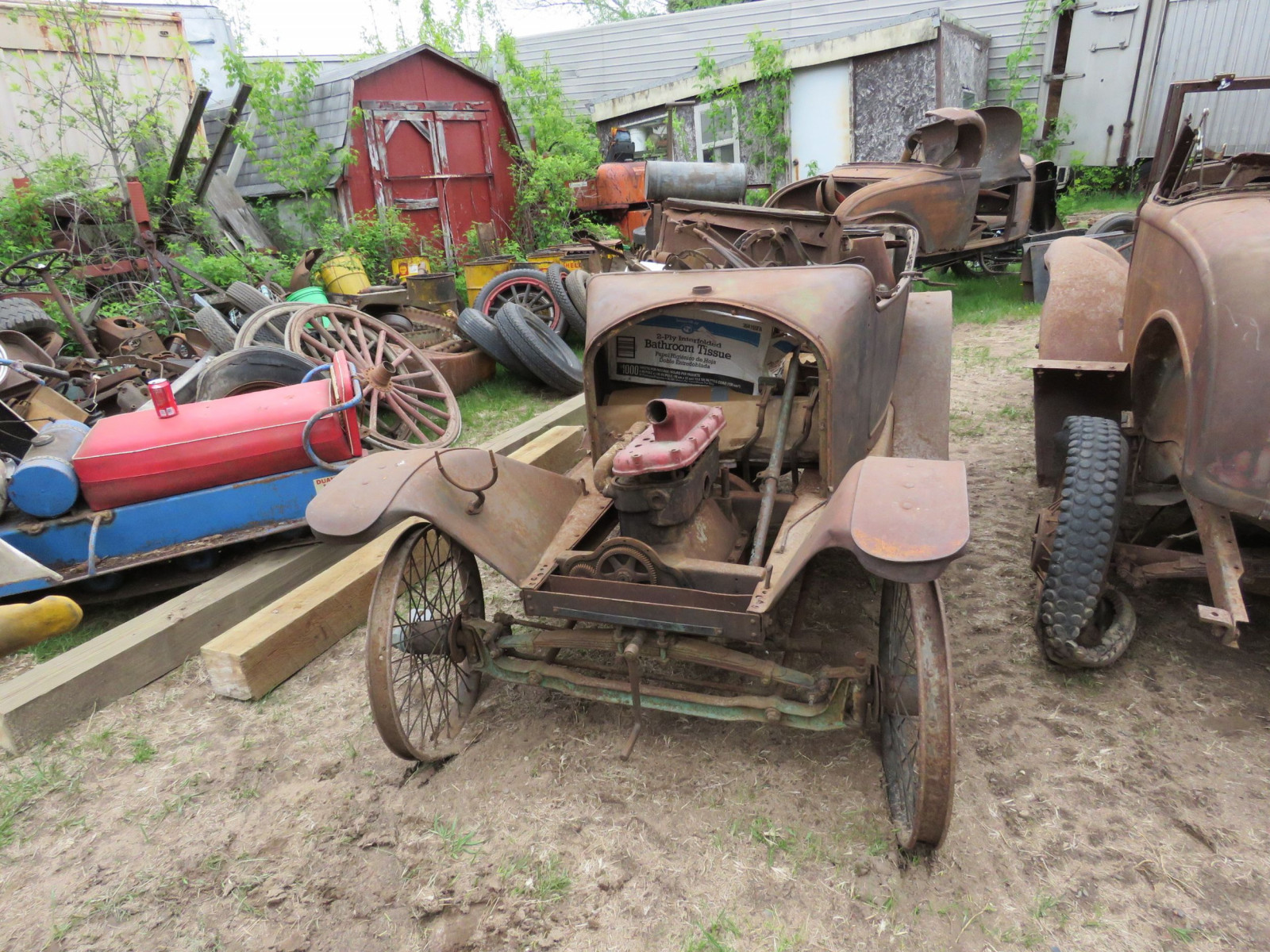 Rare 1914-15 Trumbull Cyclecar Project - Image 5