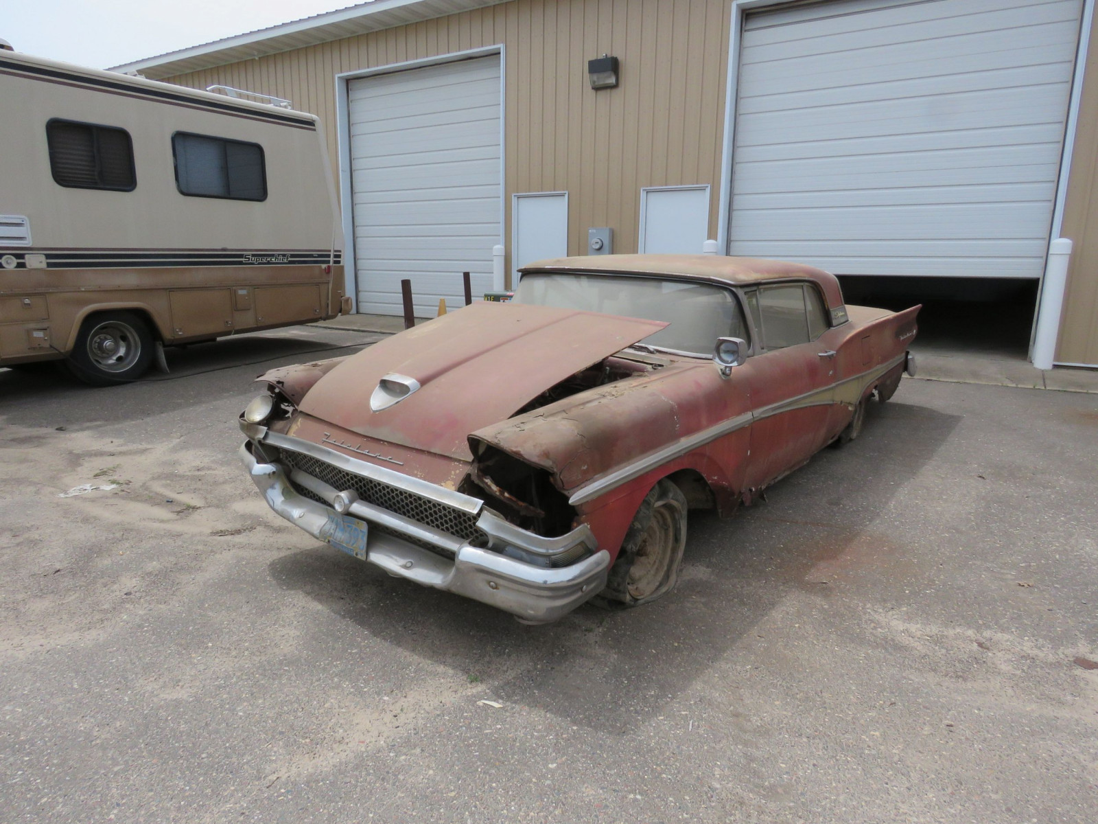 1958 Ford Fairlane 500 Retractable Hardtop Project - Image 1