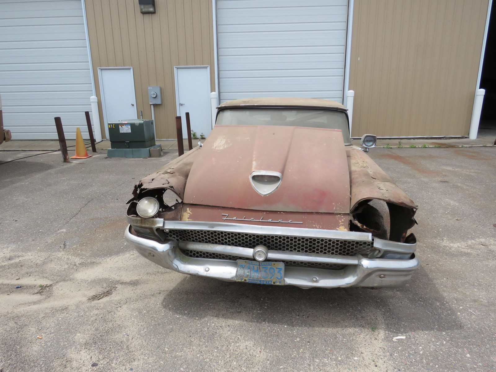 1958 Ford Fairlane 500 Retractable Hardtop Project - Image 2
