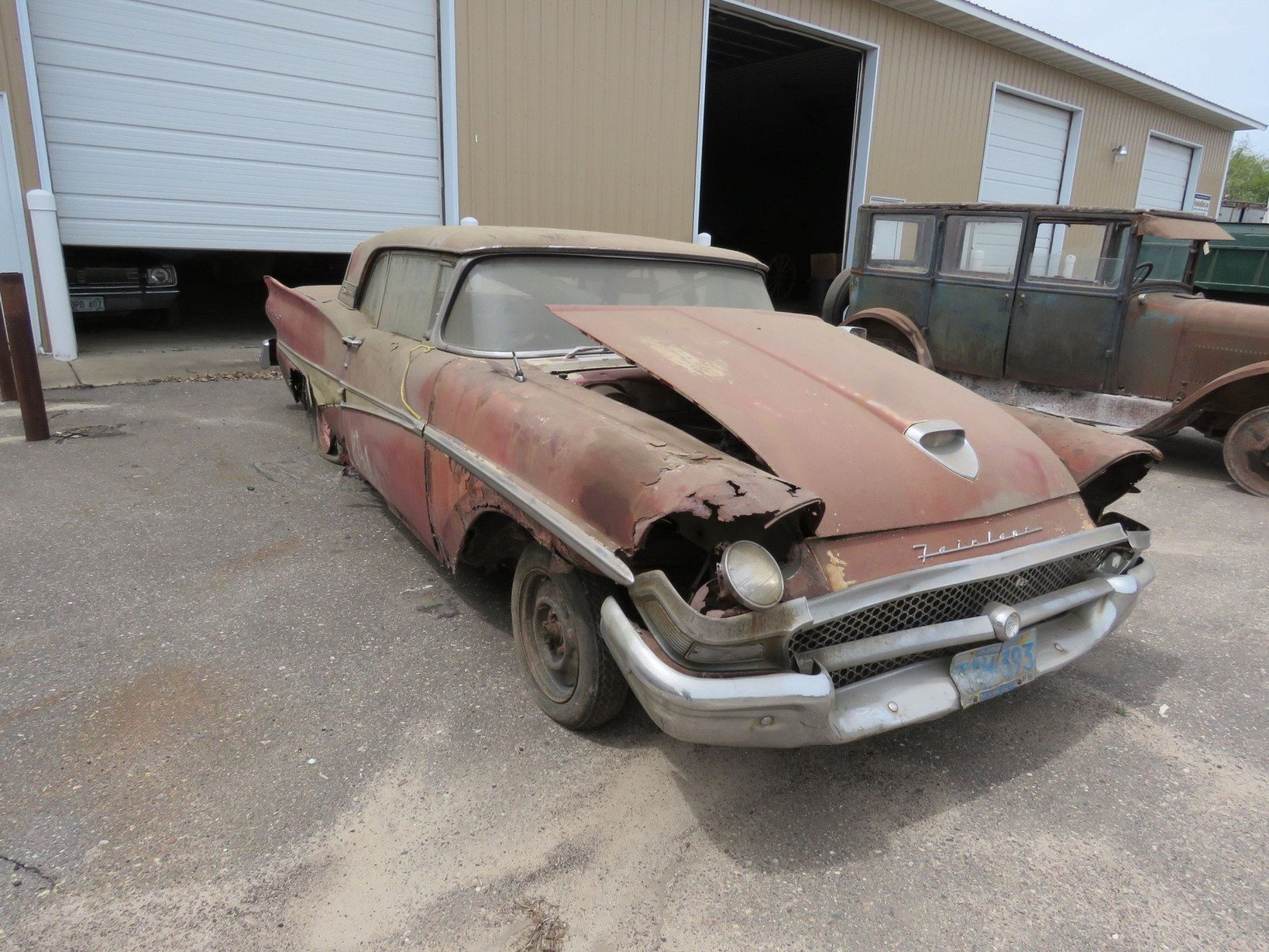 1958 Ford Fairlane 500 Retractable Hardtop Project - Image 3
